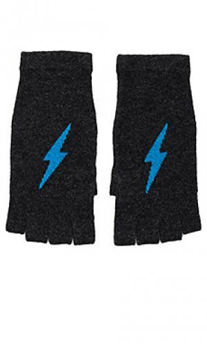 Кашемировые рукавицы tahlia 360 Sweater. Цвет: уголь
