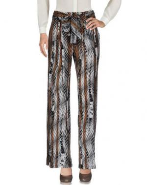 Повседневные брюки DONATELLA DE PAOLI. Цвет: коричневый