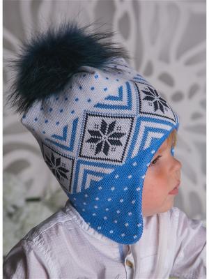Шапка LFC. Цвет: темно-синий, белый, голубой