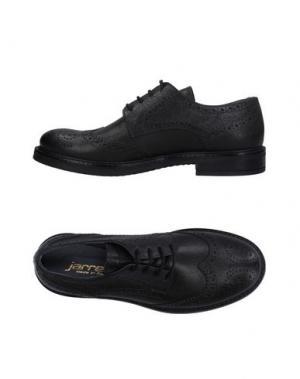 Обувь на шнурках JARRETT. Цвет: черный