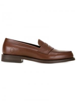 Классические пенни-лоферы Mr.Gentleman x Regal Mr. Gentleman. Цвет: коричневый