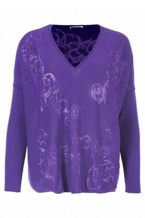 Пуловер Versace Collection. Цвет: фиолетовый