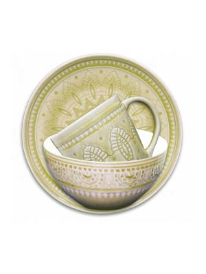 Набор столовой посуды TONGO. Цвет: золотистый