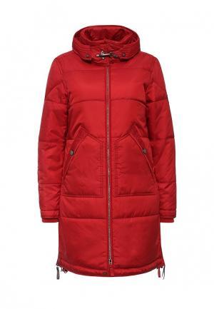 Куртка утепленная Baon. Цвет: красный