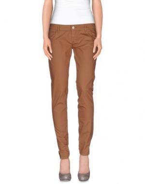 Повседневные брюки MANILA GRACE. Цвет: хаки