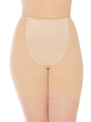 Панталоны QueenTechMagic L106 цвет бежевый. Цвет: светло-бежевый