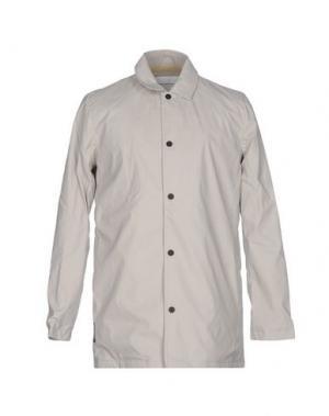 Легкое пальто KILT HERITAGE. Цвет: светло-серый
