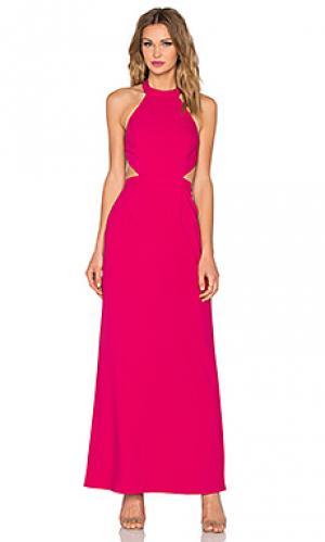 Макси платье xo NBD. Цвет: розовый