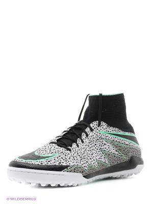 Шиповки HYPERVENOMX PROXIMO TF Nike. Цвет: белый