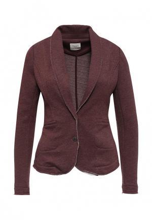 Пиджак Vero Moda. Цвет: бордовый