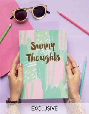 OHH DEER Блокнот Sunny Thoughts A4. Цвет: мульти