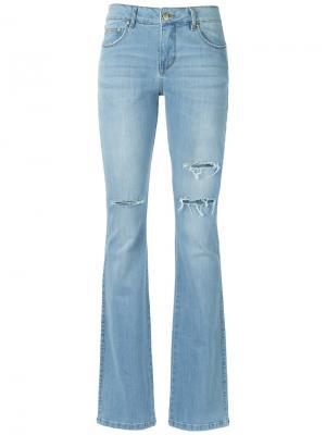 Широкие брюки Amapô. Цвет: синий