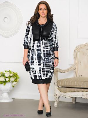 Платье Gemko plus size 12790/SIYAH