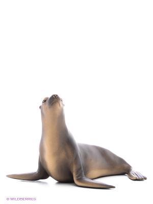 Животное зоопарка. Морской лев SCHLEICH. Цвет: бежевый