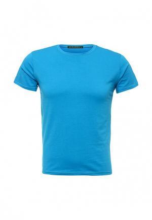 Футболка Yes Boy. Цвет: голубой
