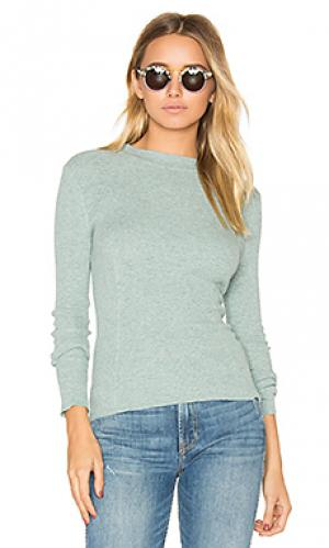 Свитер eleni 360 Sweater. Цвет: серовато-зеленый