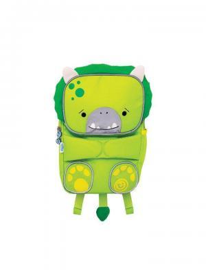Рюкзак детский Toddlepak Динозаврик TRUNKI. Цвет: салатовый