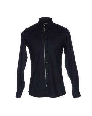 Pубашка JULIAN KEEN. Цвет: темно-синий
