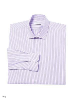 Рубашка lawiggi. Цвет: сиреневый