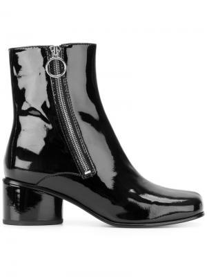 Ботинки по щиколотку Marc Jacobs. Цвет: чёрный