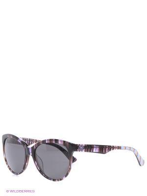 Очки солнцезащитные MM 602S 04 Missoni. Цвет: фиолетовый