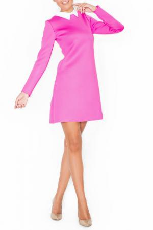 Платье KATRUS. Цвет: fuchsia