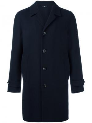 Пальто Locoro Hevo. Цвет: синий