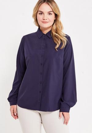 Блуза Фэст. Цвет: синий