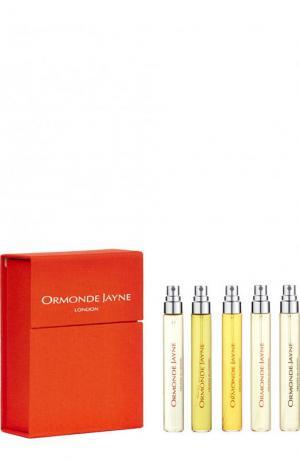 Дорожный парфюмерный набор: Osmanthus, Frangipani, Champaca, Taif, Qi Ormonde Jayne. Цвет: бесцветный