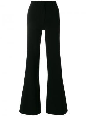 Расклешенные брюки Paul & Joe. Цвет: чёрный