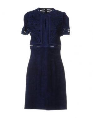 Короткое платье JITROIS. Цвет: синий