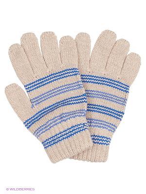 Перчатки R&I. Цвет: бежевый