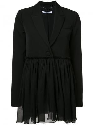 Расклешенный пиджак Givenchy. Цвет: чёрный