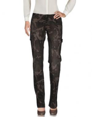 Повседневные брюки 2W2M. Цвет: темно-коричневый