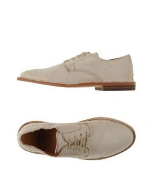 Обувь на шнурках UIT. Цвет: песочный