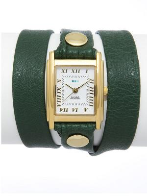 Часы La Mer Collections. Цвет: темно-зеленый