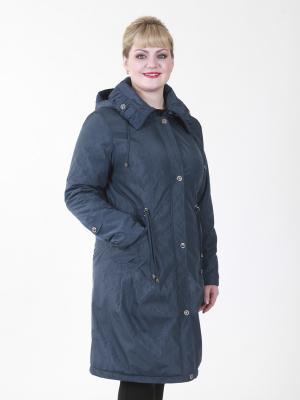 Пальто женское VIKO. Цвет: темно-зеленый