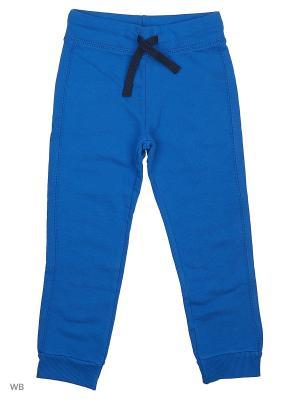 Брюки United Colors of Benetton. Цвет: синий, белый