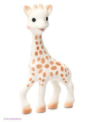 Игрушка Жирафик Софи Sophie la girafe. Цвет: белый, бежевый
