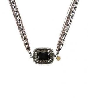 Ожерелье NUR DONATELLA LUCCHI. Цвет: черный