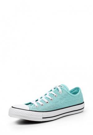 Кеды Converse. Цвет: мятный