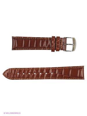 Ремень для часов, кожа итальянский крой J.A. Willson. Цвет: светло-коричневый