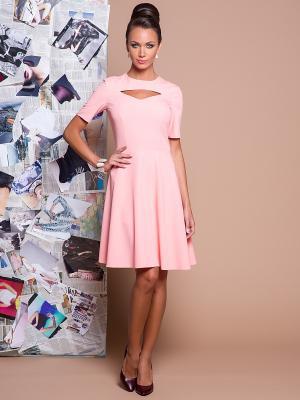 Платье Stets. Цвет: розовый