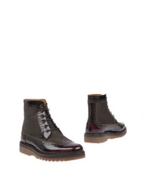 Полусапоги и высокие ботинки MARC JACOBS. Цвет: какао