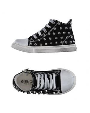 Высокие кеды и кроссовки GIENCHI. Цвет: черный