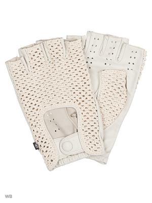 Перчатки MERCEDES-BENZ. Цвет: белый