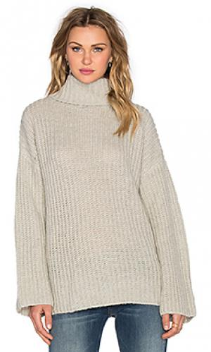Northern lights sweater Three of Something. Цвет: gray