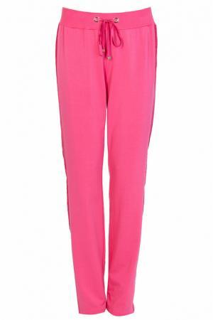 Спортивные брюки Elisa Fanti. Цвет: розовый
