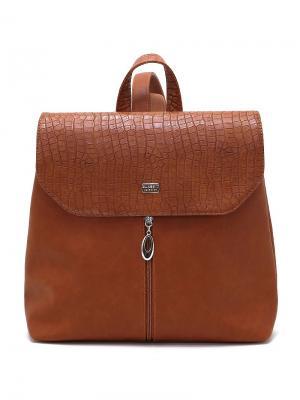 Рюкзак Solo true bags. Цвет: рыжий
