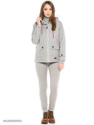 Куртка Trespass. Цвет: серый